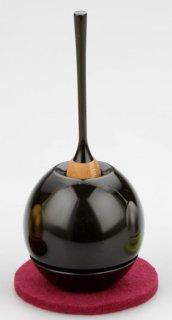 鈴セット リンセット チェリン(黒漆色)1.8寸