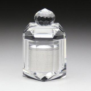ミニ骨壺 クリスタルガラス器製骨壺 メモリアルポット TH-1