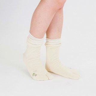四重履き冷え取り靴下