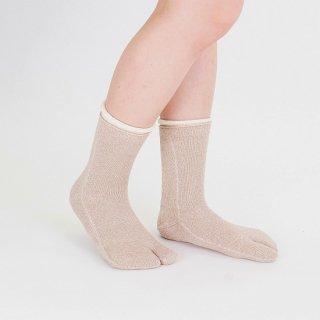 二重履き冷え取り靴下