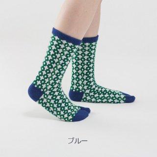 クロス柄足袋靴下