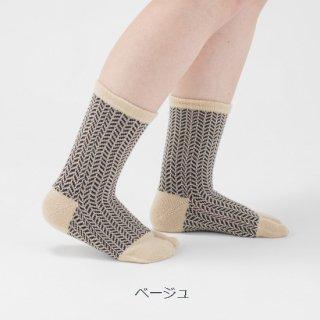 スルカ柄足袋靴下
