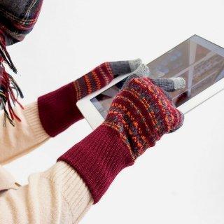 クッカ柄 3D手袋
