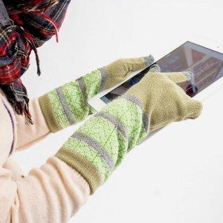 ウェーブ柄 3D手袋
