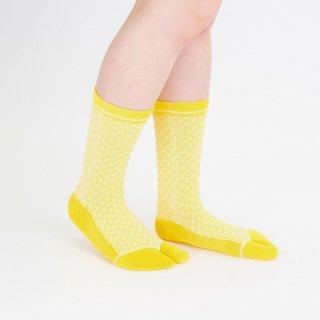 青海波柄足袋靴下
