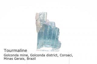 【インディゴライト】トルマリン 結晶 ブラジル産 ゴウコンダ産 リシア電気石 Golconda mine, Minas Gerais, Brazil tourmaline 