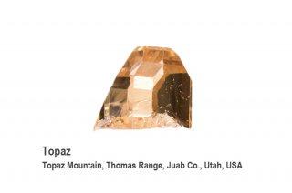 トパーズ 結晶石 USA産|Topaz Mountain, Thomas Range, Juab Co., Utah, USA|Topaz|