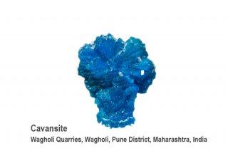 カバンサイト 結晶 インド産|カバンシ石|Wagholi Quarries, Wagholi, Pune District, Maharashtra, India|Cavansite|