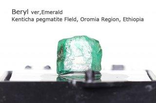 エメラルド 結晶石|エチオピア産|Kenticha pegmatite Field, Oromia Region, Ethiopia|Beryle|緑柱石|