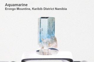 アクアマリン 結晶石 ナミビア産|Erongo Mountins, Karibib District Namibia|Aquamarine|緑柱石|