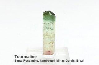 トルマリン 結晶石 ブラジル産|Santa Rosa mine, Itambacuri, Minas Gerais, Brazil|電気石|Tourmaline|