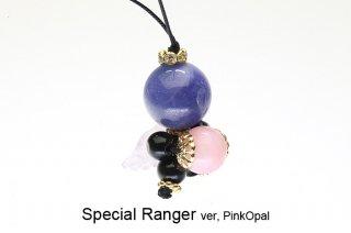 スペシャルレンジャー ver,ピンクオパール ストラップ Special Ranger Pink Opal 現品 