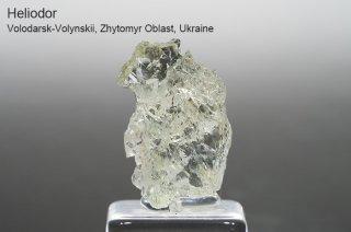 ヘリオドール 結晶石 ウクライナ産 Volodarsk-Volynskii, Zhytomyr Oblast, Ukraine Beryl Heliodor 緑柱石 ベリル ゴールデンベリル 