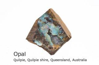 オパール 標本原石 オーストラリア産|Quilpie, Quilpie shire, Queensland, Australia|Opal||蛋白石|