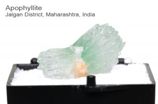 グリーンアポフィライト 結晶石 インド産|Jalgan District, Maharashtra, India|Apophyllite|魚眼石|