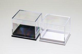 標本整理品 標本ボックス アクリルケース|5個セット|白・黒|41 x 35 x 32mm|
