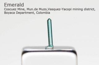 エメラルド 結晶石 コロンビア産|Coscuez Mine, Mun.de Muzo, Colombia|Emerald|