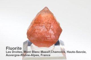 ピンクフローライト 結晶石 フランス産|Les Droites, Mont Blanc Massif, Chamonix, France|蛍石|Fluorite|