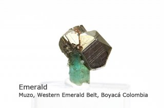 エメラルド 結晶石 コロンビア産|緑柱石|Muzo, Western Emerald Belt, Boyac Colombia|Emerald|