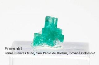 エメラルド 結晶石 コロンビア産|緑柱石|Peñas Blancas Mine, San Pablo de Borbur, Boyacá Colombia|Emerald|