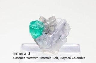 エメラルド 結晶石 コロンビア産|緑柱石|Cunas Mine, Marip?, Boyac Colombia|Emerald|