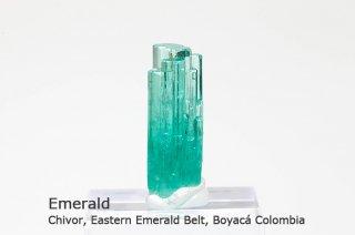 エメラルド 結晶石 コロンビア産|緑柱石|Chivor, Eastern Emerald Belt, Boyac Colombia|Emerald|