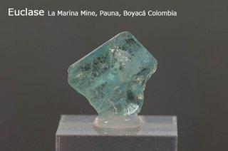 ユークレイス 結晶石 コロンビア産  La Marina Mine, Pauna, Boyaca Colombia Euclase ケイ酸塩鉱物 
