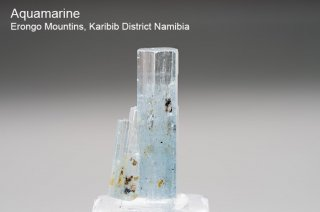 アクアマリン 結晶石 ナミビア産|Beryl|Erongo Mountins, Karibib District Namibia|Aquamarine|緑柱石|