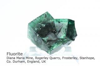 フローライト 結晶石 イングランド|ダイアナマリア鉱山|発光フローライト|Diana Maria Mine, England, UK|Fluorite|蛍石|