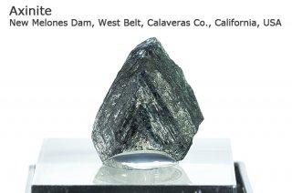 アキシナイト 結晶 アメリカ産|New Melones Dam, West Belt, Calaveras Co., California, USA|斧石|