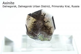アキシナイト 結晶 ロシア産|Dalnegorsk, Dalnegorsk Urban District, Primorsky Krai, Russia|斧石|
