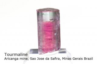 トルマリン 結晶 ブラジル産|リシア電気石|Aricanga mine, Sao Jose da Safira, Minas Gerais, Brazil|Tourmaline|