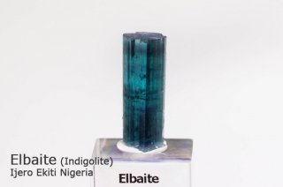 インディゴライト 結晶 ナイジェリア産|エルバイト|Ijero Ekiti Nigeria|Tourmaline|