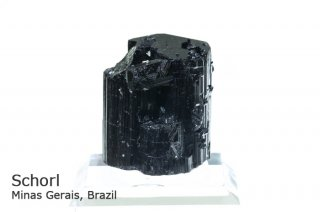 ショール 結晶石 ブラジル産 Minas Gerais, Brazil Schorl 鉄電気石 