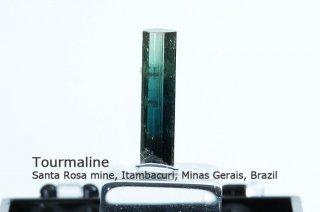 トルマリン 結晶 ブラジル産|リシア電気石|Santa Rosa mine, Itambacuri, Minas Gerais, Brazil|Tourmaline|
