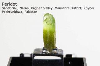 ペリドット 結晶 パキスタン産 Sapat Gali, Pakistan かんらん石 