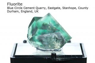 フローライト 結晶石 イングランド|発光フローライト|Blue Circle Durham, England, UK|Fluorite|蛍石|