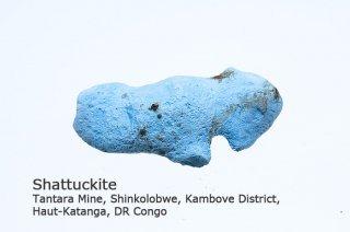 シャッタカイト 結晶 ゴンゴ産|Tantara Mine, Haut-Katanga, DR Congo|Shattuckite |シャタック石|