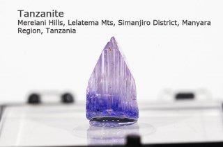 【サムネイルサイズ】タンザナイト 結晶石 タンザニア産|ブルーゾイサイト|灰簾石|Mereiani Hills, Lelatema Mts, Tanzania|Tanzanite|