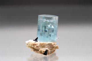 アクアマリン 結晶石 ナミビア産 Beryl Erongo Mountins, Karibib District Namibia Aquamarine 緑柱石 