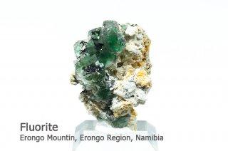 フローライト 結晶石 ナミビア産 エロンゴ産 Erongo Mountin, Erongo Region, Namibia Fluorite 蛍石 