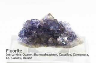 フローライト 結晶石 アイルランド産 Joe Larkin's Quarry, Co. Galway, Ireland Fluorite 蛍石 