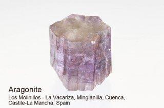 アラゴナイト 結晶 スペイン産|Los Molinillos - La Vacariza, Spain|Aragonite|霰石|