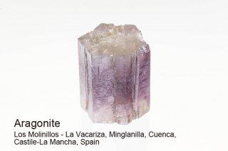 アラゴナイト 結晶 スペイン産 Los Molinillos - La Vacariza, Spain Aragonite 霰石 