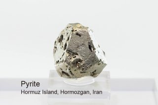 パイライト結晶 イラン産 Hormuz Island, Hormozgan, Iran Pyrite 黄鉄鉱 