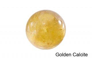 【丸玉】ゴールデンカルサイト 丸玉 34mm|方解石|Golden Calcite|