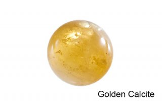 【丸玉】ゴールデンカルサイト 丸玉 32mm|方解石|Golden Calcite|