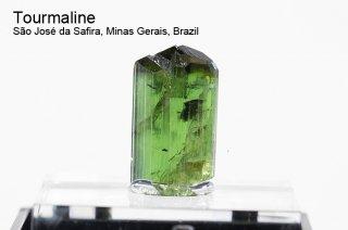 トルマリン 結晶 ブラジル産|リシア電気石|Sao Jose da Safira, Minas Gerais, Brazil|Tourmaline|