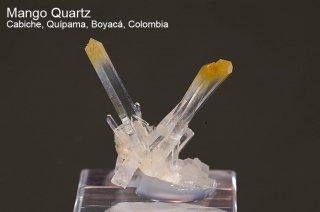 マンゴークォーツ 結晶 コロンビア産|Cabiche, Quipama, Boyaca, Colombia|Quartz|水晶|2082A|
