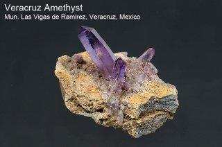 アメジスト 結晶 メキシコ産|ベラクルス アメジスト|Mun. Las Vigas de Ramirez, Veracruz, Mexico|Amethyst|紫水晶|